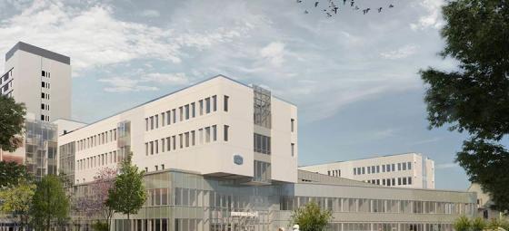 Mälarsjukhuset, Eskilstuna, ny huvudbyggnad