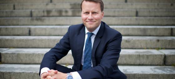 Jan Krepp, vd på Hent Sverige. Foto: Ratos