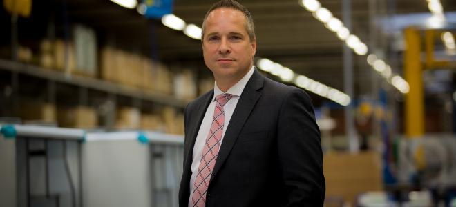 Roland Kasper, tillträdande koncernchef i Systemair. Foto: Systemair