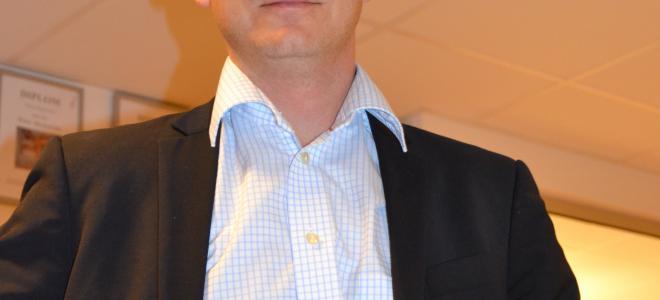 Claes Seldeby, Sverigechef Ahlsell. Foto: Rolf Gabrielson
