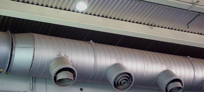 Ventilationssystem i tak. Foto: Colourbox