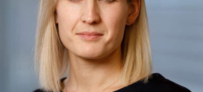 Frida Almqvist, vd för Fagerhult Belysning Sverige AB från 1 december 2020. Foto: Fagerhult