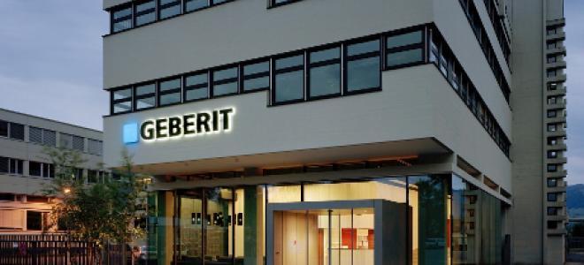 Geberits huvudkontor i Jona. Foto: Geberit presstjänst