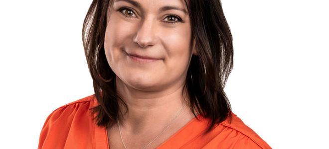 Maria Gihlström, försäljningschef på Leanheat Sverige. Foto: Leanheat