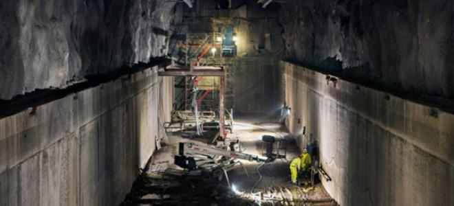 Henriksdals reningsverk i Stockholm. Foto: Nytorps  Rör