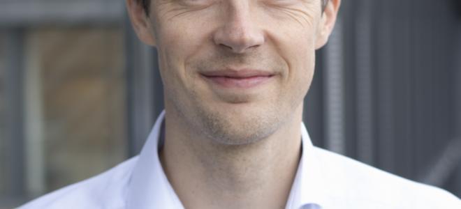 Veidekkes chefsanalytiker Kristoffer Eide Hoen. Foto: Veidekke