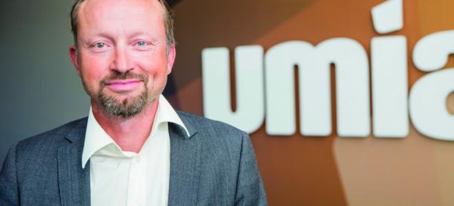 Ingemar Sjöström, vd Umia i Umeå.