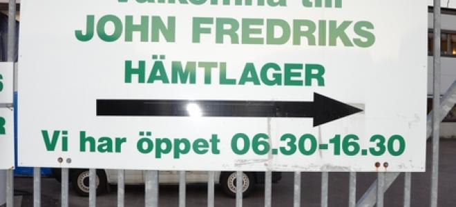 John Fredriks huvudanläggning på Hisingen. Foto: Rolf Gabrielson