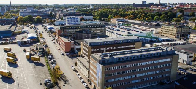 Kungsledens fastighet Nattskiftet i Västberga blir hemvist för Umias Stockholmssatsningen. Foto: Kungsleden