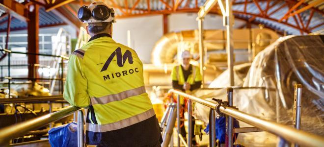 Midroc-projekt i Åkersberga utanför Stockholm. Foto: Midroc