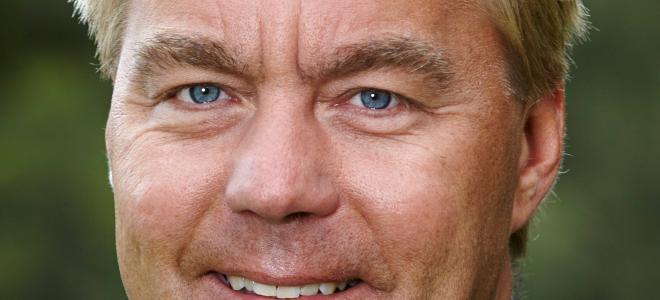 Jesper Göransson, koncernchef Peab. Foto: Peab
