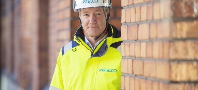Per Sjöstrand, koncernchef för Instalco. Foto: Instalco