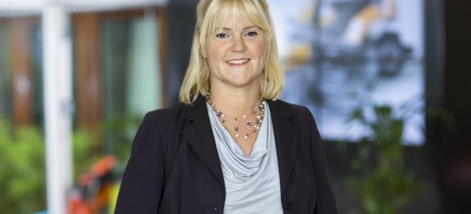 Sofia Axelsson, ny vd på Svedbergs från 9 oktober 2017. Foto: Husqvarna