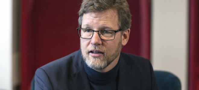 Jimmy Bengtsson, Sverigechef på Veidekke och koncernchef från 1 september 2019. Foto: Veidekke