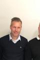 Från vänster, Anders Karlsson, avdelningschef Bravida Norrköping El, Johan Larsson, Svagströmsinstallationer, och Marcus Ringström, Svagströmsinstallationer. Foto: Bravida