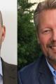 Lars Andreasson (tv) och Daniel Öhlander, KAM respektive marknadschef på Schneider Electric Retail. Foto: Schneider Electric