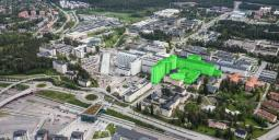 Illustration av det nya storbygget vid Universitetssjukhuset i Umeå. Foto: Västerbottens Läns Landsting