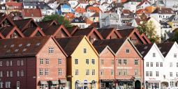 Bergens mest välkända silhuett. Foto: Colourbox