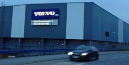 Volvos fabrik i Olofström. Foto: Malmberg